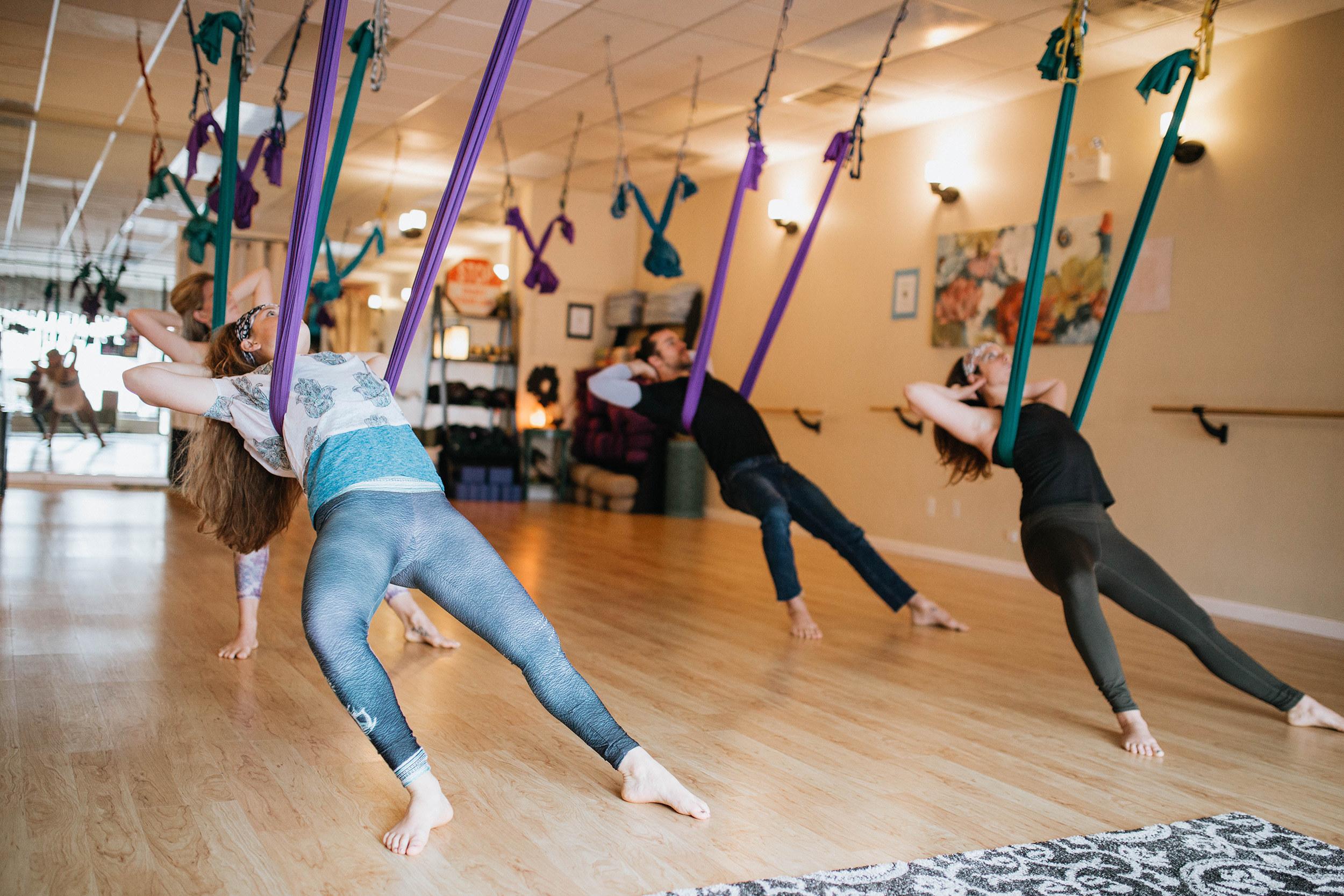 Aerial Yoga - Om My Yoga